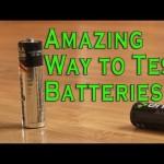 一瞬で乾電池が新品かどうかを調べる方法が結構便利そう