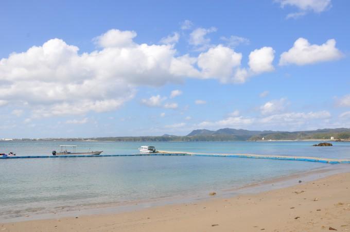 カヌチャのビーチ