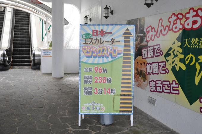 日本一長いエスカレーター