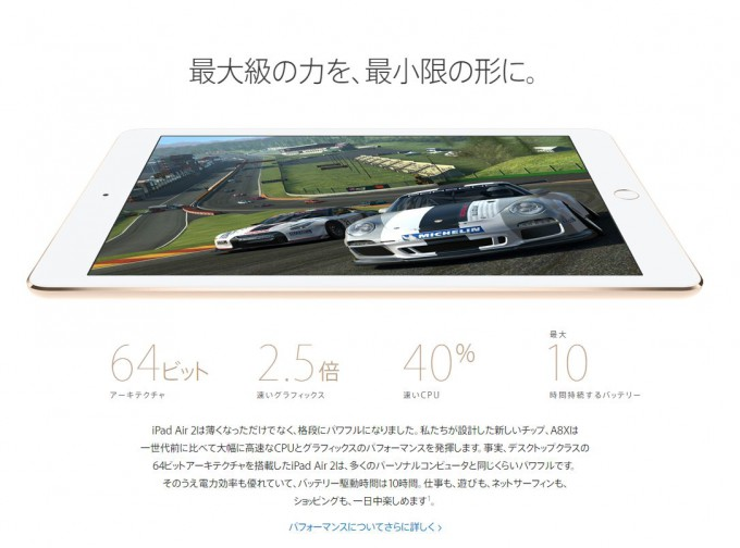 iPad Air2性能
