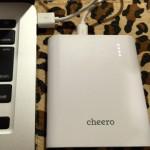 cheero Power Plus 3(13400mAh)を購入したら最高だったのでレビューしてみる