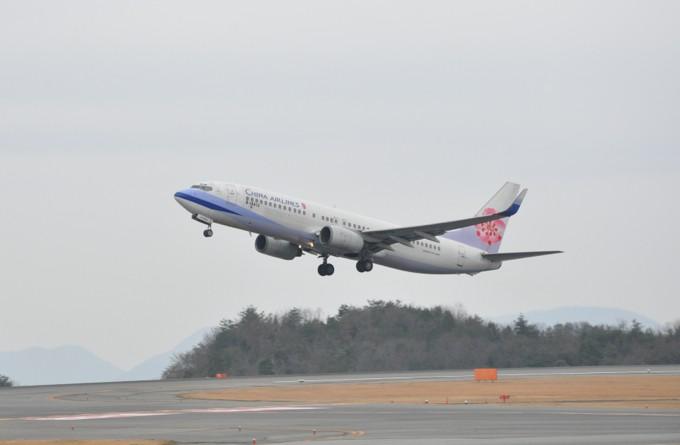 CHINA AIRLINES 広島空港