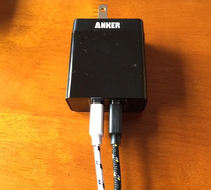 Anker USB充電器 2ポート