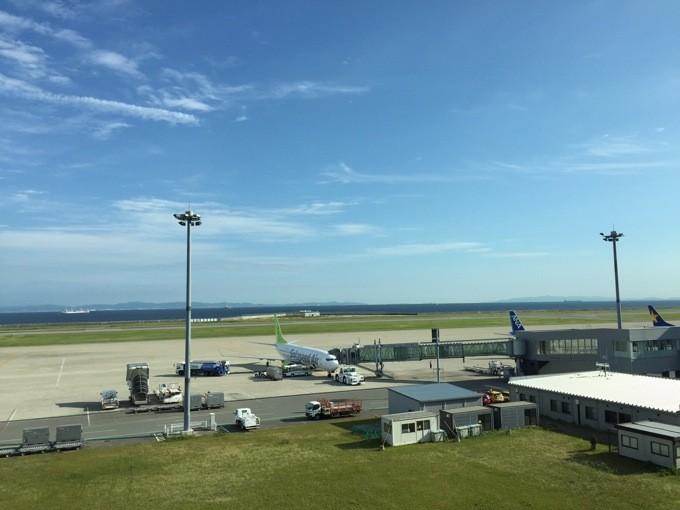 神戸空港 景色