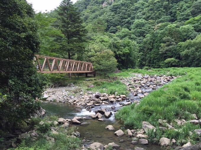 山野峡 橋