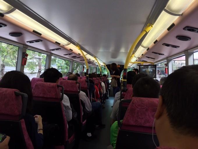 A43バス内部