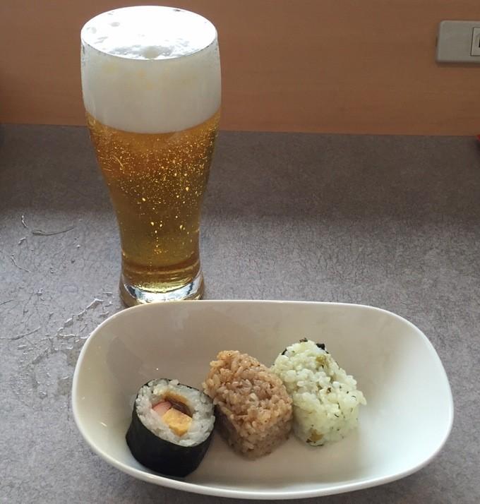 関空 ANAラウンジ ビール