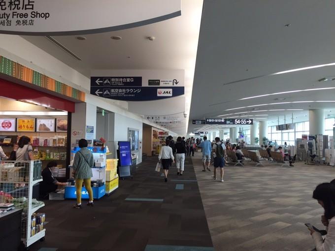 福岡空港 サクララウンジ