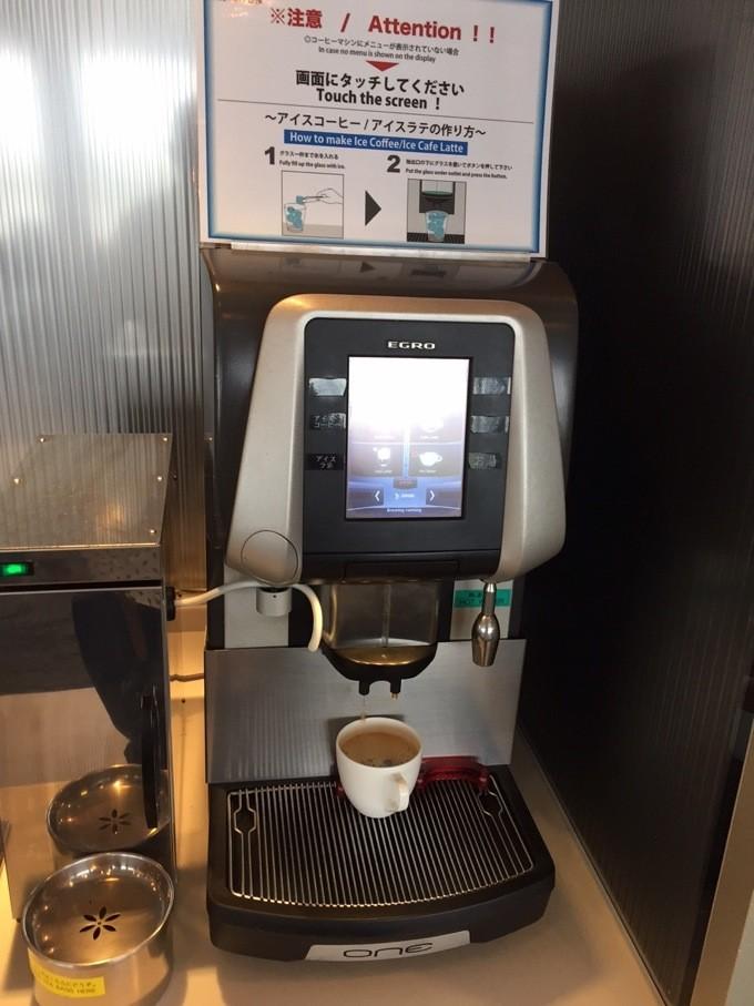 ANAラウンジ コーヒーメーカー