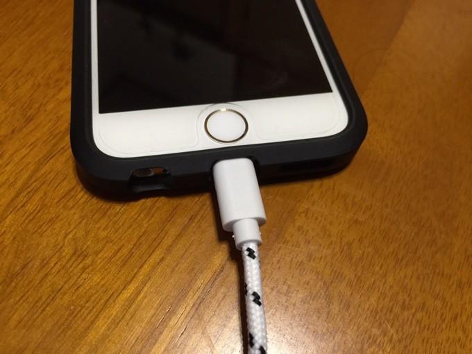 iPhone6 ライトニングケーブル