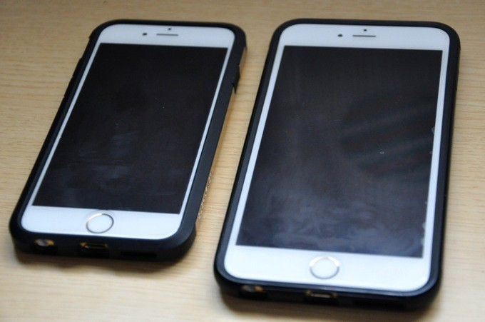 iPhone6とiPhone6 Plus