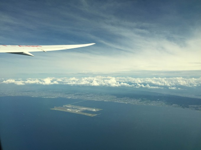 飛行機 景色
