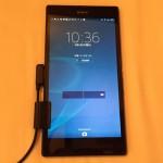 Z Ultra C6833(ズルトラ)を購入したよ!理由はiPhone6 Plusの盗難です・・・