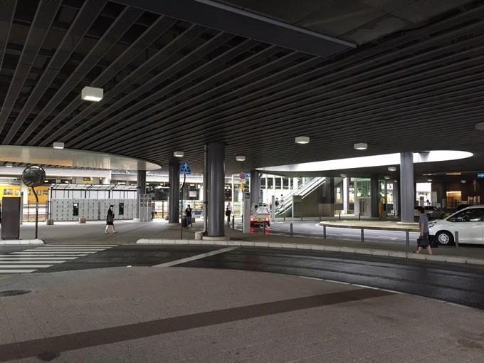 岡山駅 バス乗り場