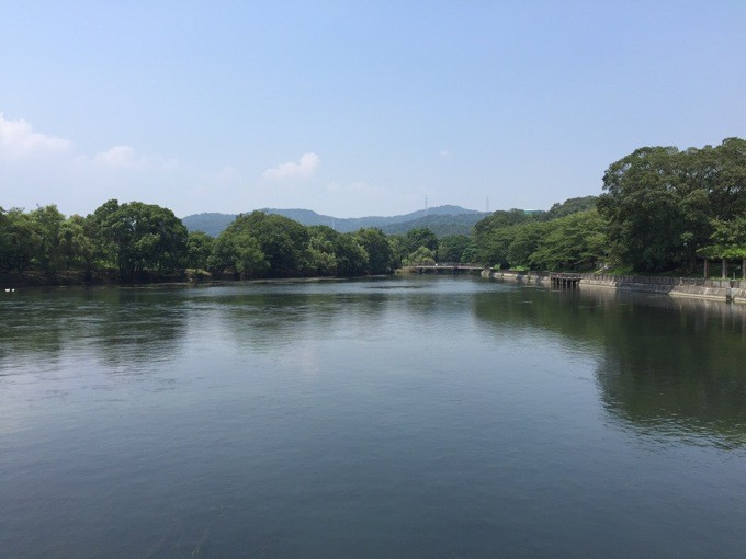 酒津公園 水門