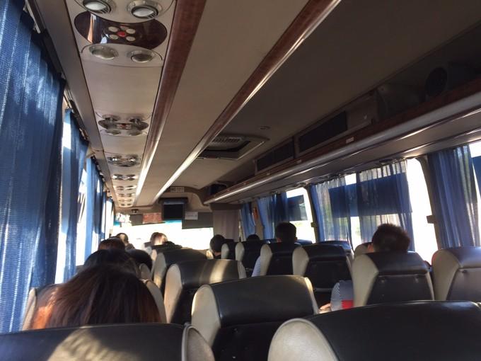 香港から広州のバス