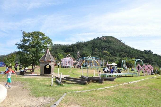 深山公園 大型遊具