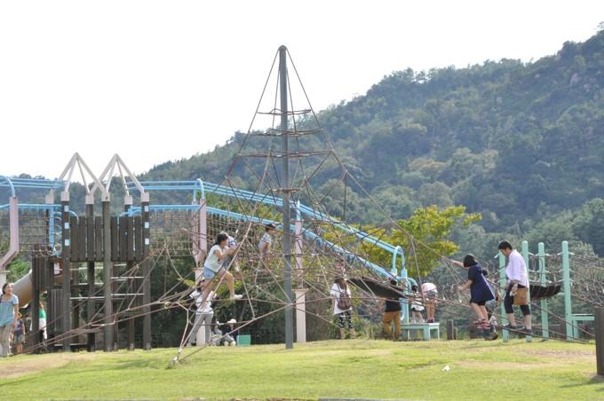 みやま公園 遊具