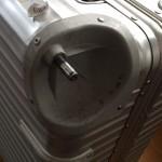 RIMOWAのTOPASのホイールが壊れたので第一ボデーに修理に出してみた