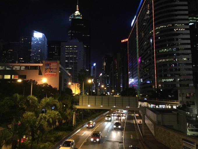 香港島 夜景
