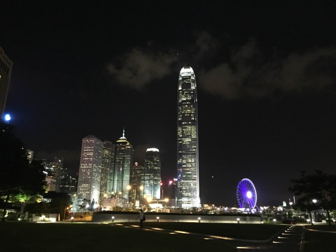 香港 セントラル 夜景