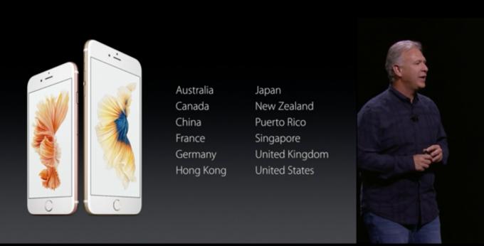 iPhone6s 発売日