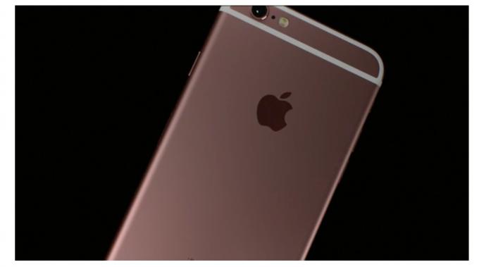 iPhone6s ローズゴールド