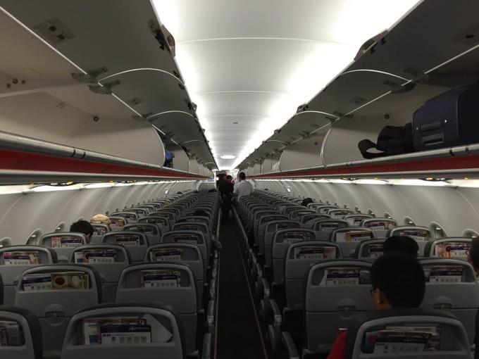 香港エクスプレス 広島便 乗客