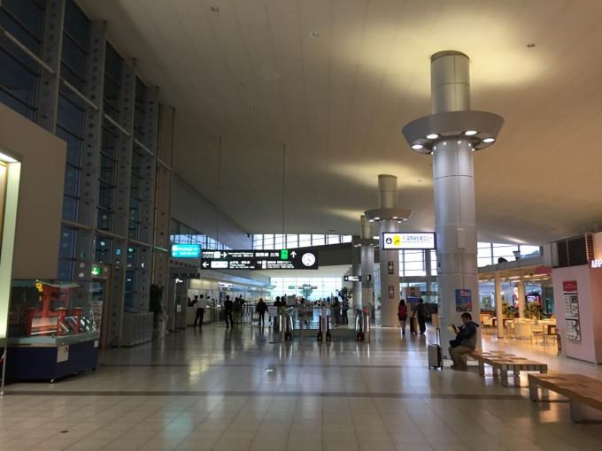 広島空港 香港エクスプレス