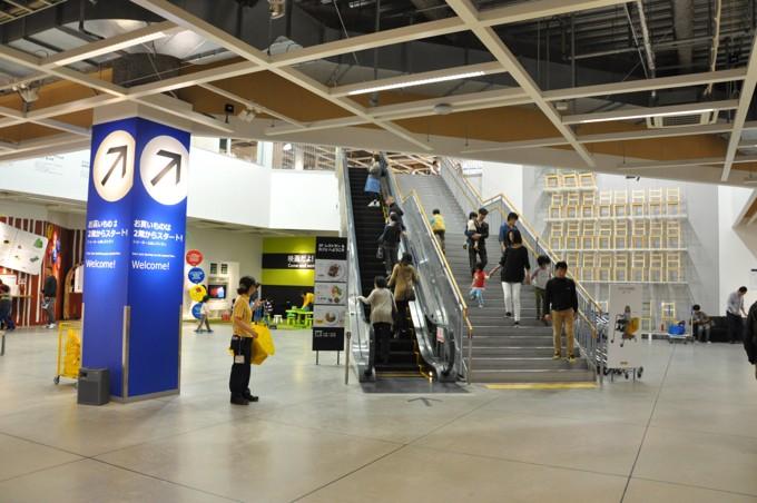 IKEA神戸 店内