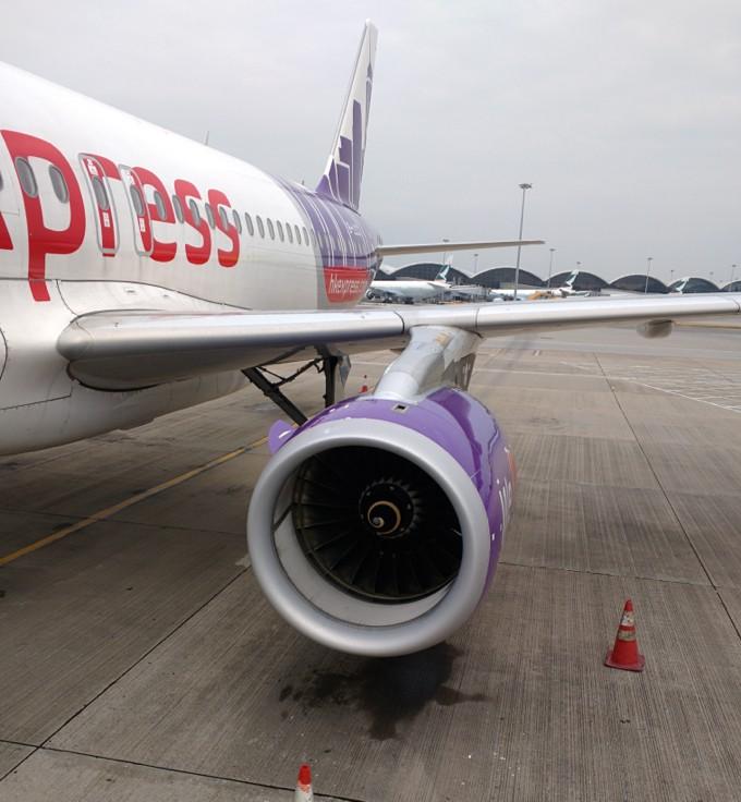 香港エクスプレス A320 機体