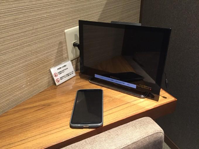 広島空港 ラウンジもみじ テレビ