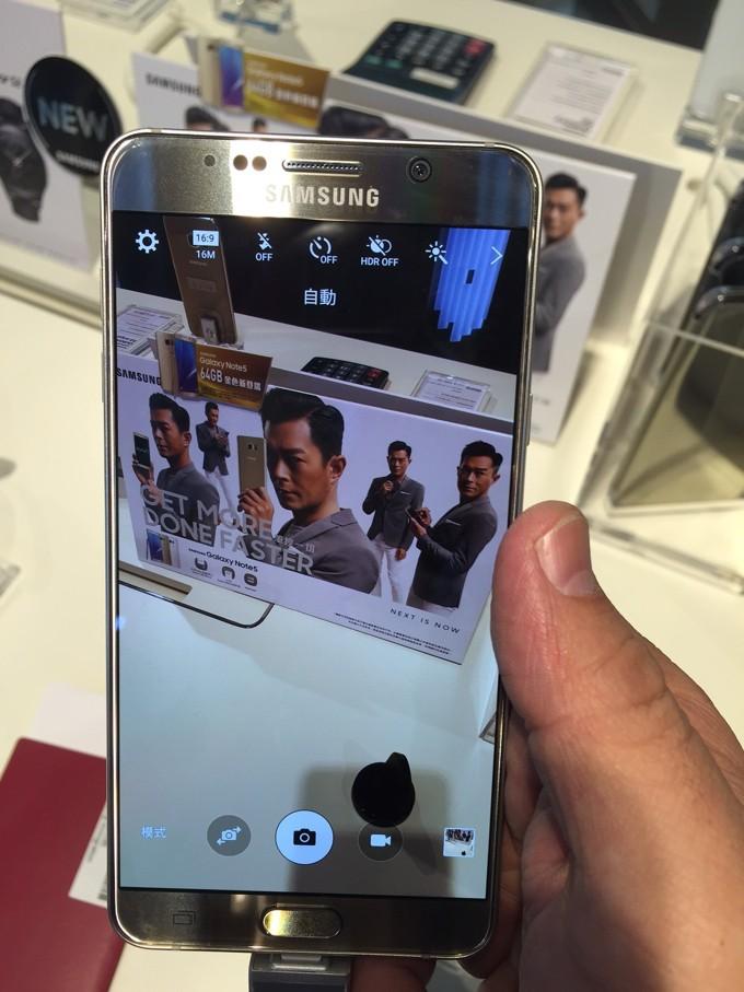 香港国際空港 Galaxy Note5