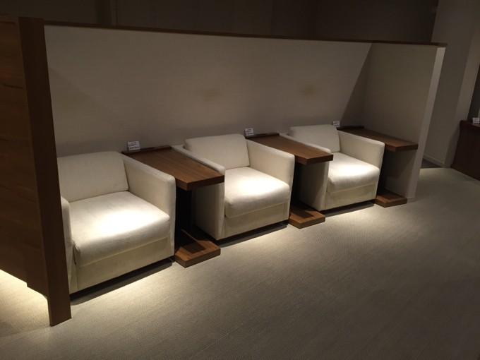 広島空港 ビジネスラウンジ 内部