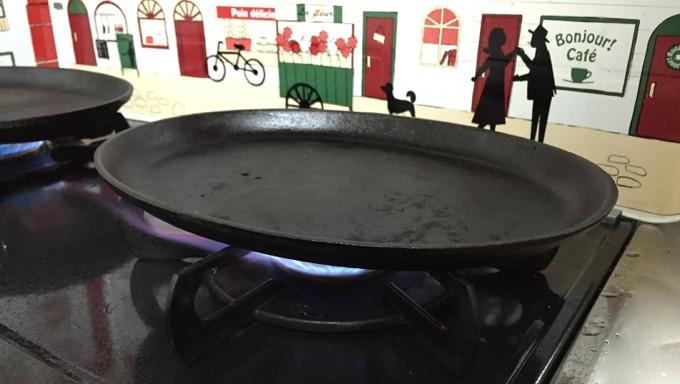 ステーキ皿 加熱