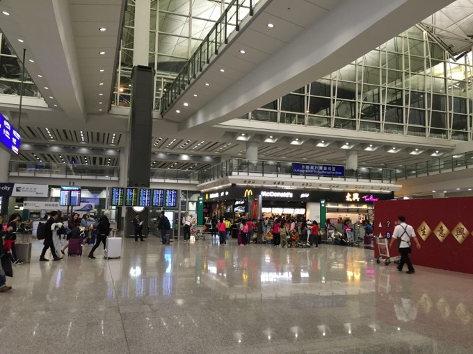 香港国際空港 マクドナルド