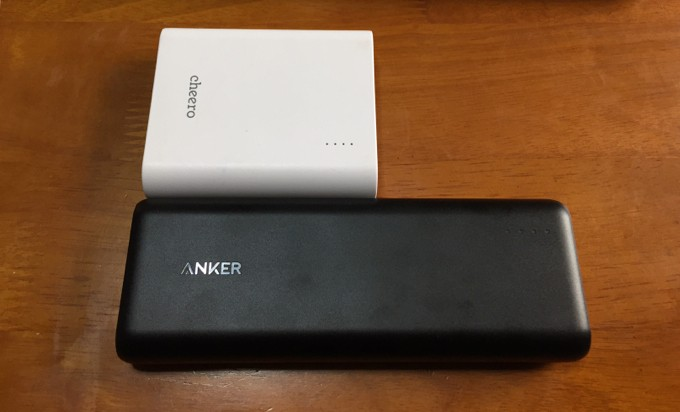 Anker PowerCore 2011 cheero Power Plus 3 13400mAh