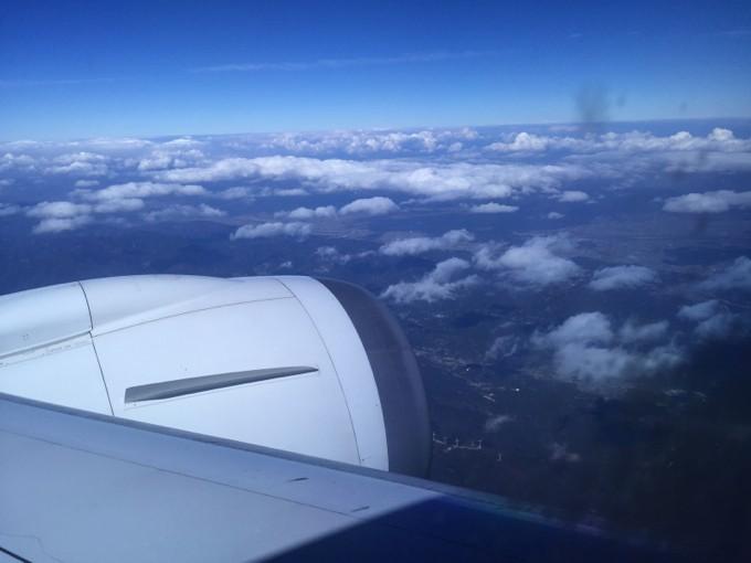 飛行機 バックパック