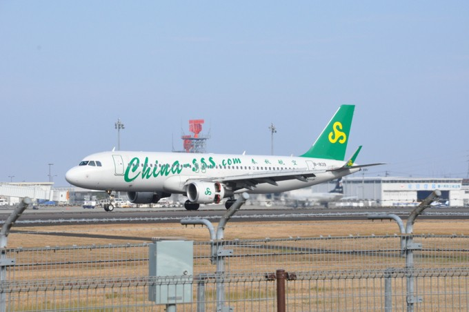 高松空港 春秋航空