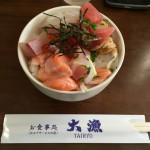 愛媛県今治市の「大漁」の海鮮丼は長時間並んででも食べるべき逸品