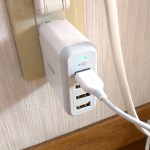 ANKERの40W 4ポート USB急速充電器(ACアダプター)、PowerPort 4のレビュー