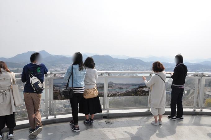 千光寺 展望台 景色