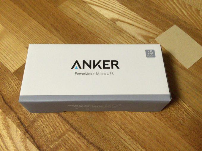 Anker PowerLine+ Micro USBケーブル