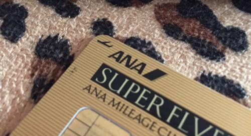 ANA VISAゴールドカード
