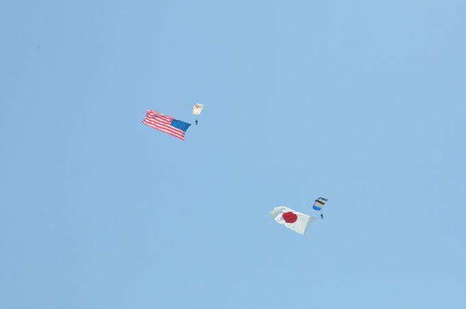 フレンドシップデー 航空ショー