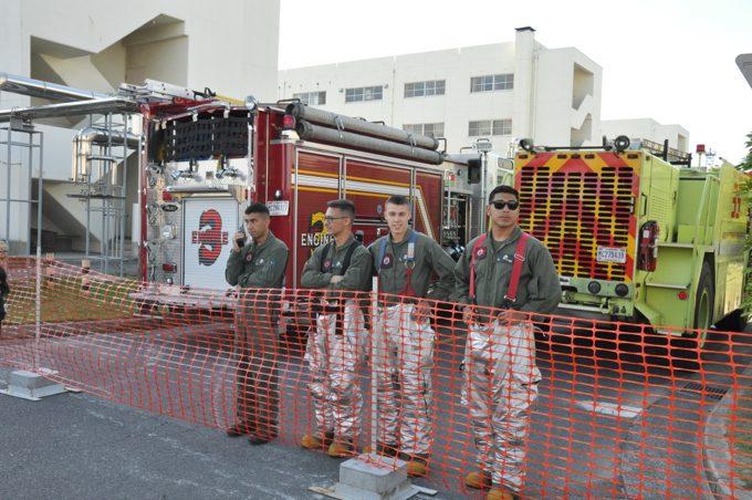 岩国基地 消防隊