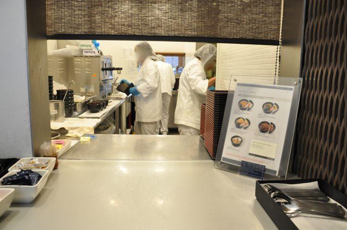 ANAラウンジ 麺コーナー
