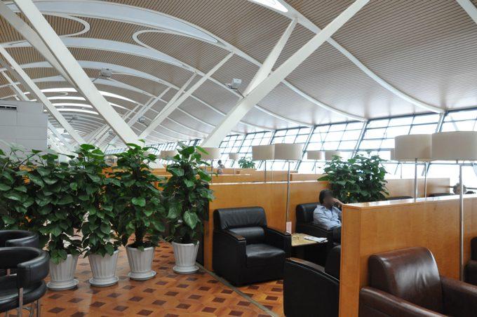 上海浦東国際空港 ラウンジ