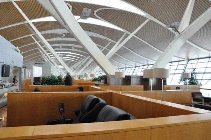 上海 空港ラウンジ