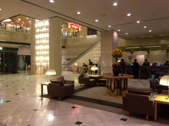 ホテル大阪ベイタワー フロント